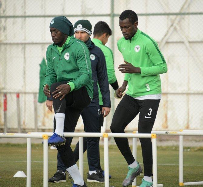 Atiker Konyaspor, E.Y. Malatyaspor maçı hazırlıklarına başladı
