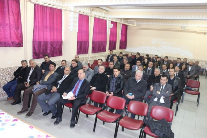 Kulu'da Okul Müdürleri Kurulu Toplantısı yapıldı