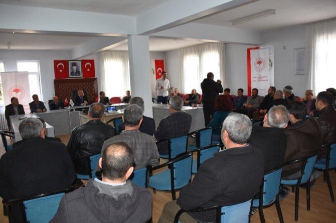 Aksaray'da çiftçilere bilgilendirme ve eğitim