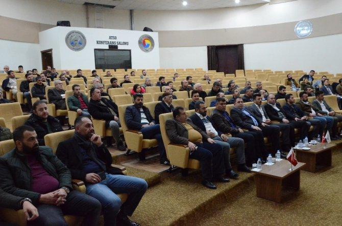 ATSO'da Mesleki Yeterlilik Belgesi Bilgilendirme toplantısı yapıldı