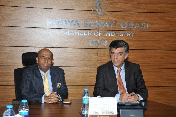Konyalı sanayicilere Sri Lanka'daki iş fırsatları anlatıldı