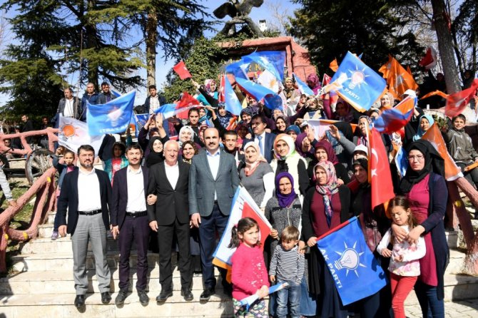 """Başkan Altay: """"Gücümüzü sizlerden alıyoruz"""""""