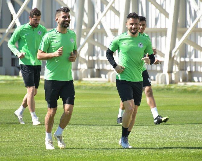 Atiker Konyaspor, Beşiktaş maçının hazırlıklarını tamamladı