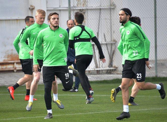 Atiker Konyaspor, Ç. Rizespor hazırlıklarını sürdürüyor