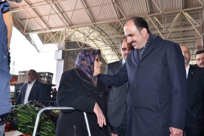 Başkan Altay, Karapınar'da vatandaşlarla buluştu