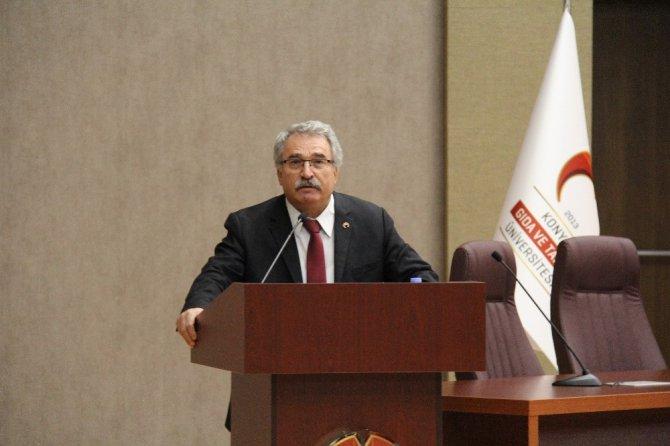 "KGTÜ'de ""Milletin Sesi Mehmet Akif Ersoy'' konulu konferans"