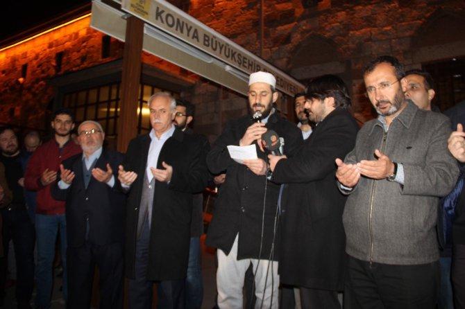 Yeni Zelanda'daki saldırıya Konya'dan tepki