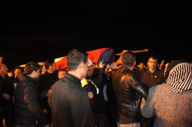 Polonya'da öldürülen Furkan'ın cenazesi Konya'ya getirildi