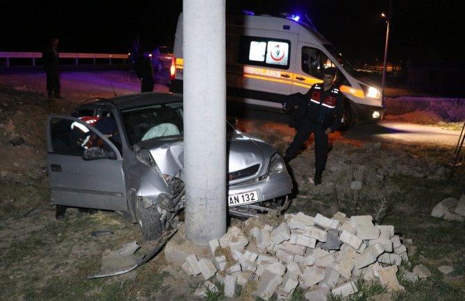 Otomobil şarampole düştü: 1'i çocuk 6 yaralı