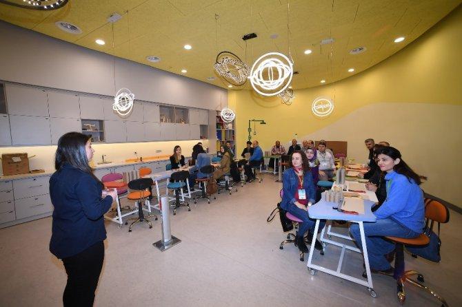 Konya Bilim Merkezi matematik öğretmenlerini ağırladı