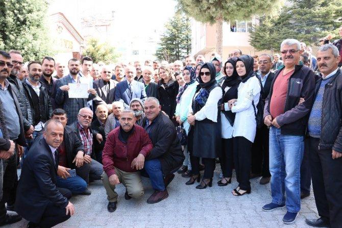Beyşehir Belediye Başkanı Bayındır mazbatasını aldı