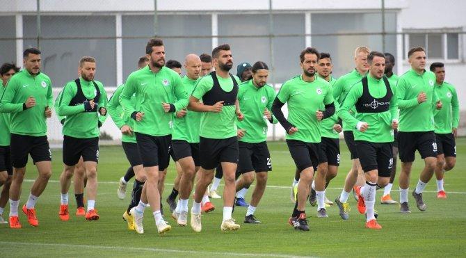 Atiker Konyaspor, DG Sivasspor hazırlıklarına devam ediyor