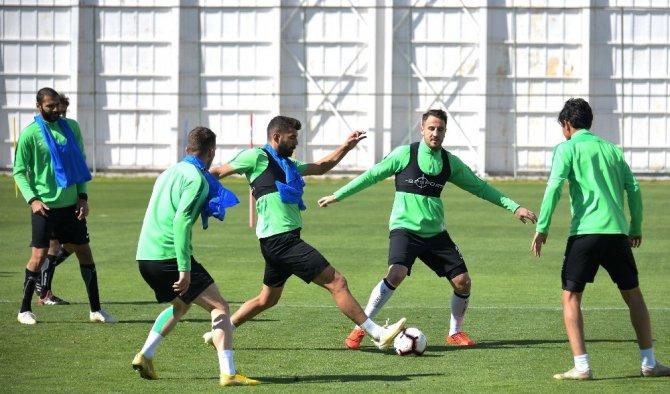 Atiker Konyaspor, DG Sivasspor maçının hazırlıklarını sürdürdü