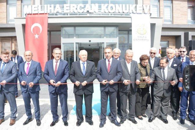 SÜ'de Meliha Ercan Hasta Konukevi açıldı