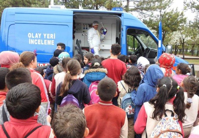 İlkokul öğrencilerinden jandarmaya ziyaret