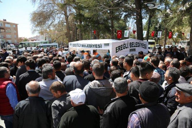 Başkan Oprukçu'dan hemşehrilerine ikram