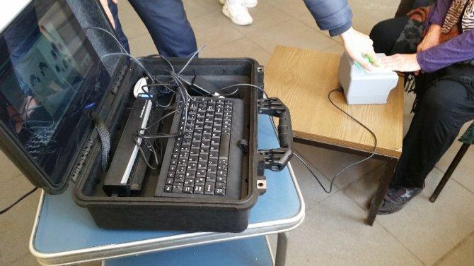 'Gezici Kayıt Terminali' Kulu'da hizmet vermeye başladı