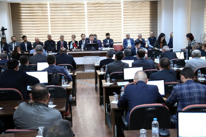 Başkan Dinçer, ilk meclis toplantısını gerçekleştirdi