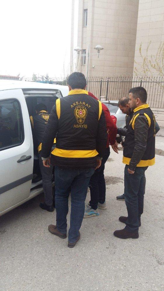 Aksaray'da 2 hırsızlık şüphelisine tutuklama