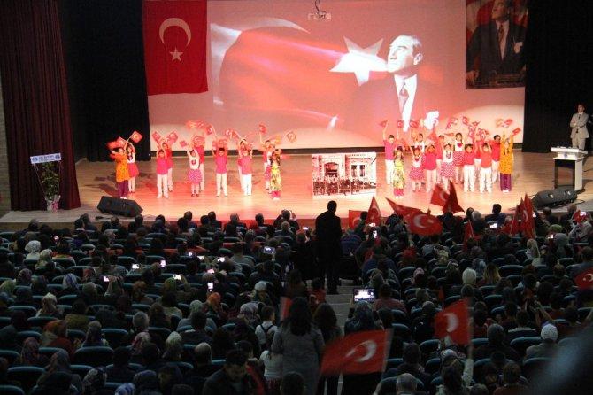 Beyşehir'de 23 Nisan coşkusu