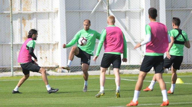 A. Konyaspor, Galatasaray maçı hazırlıklarını sürdürüyor