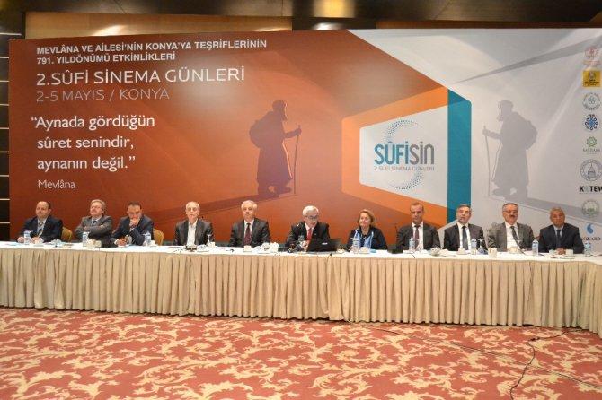 Konya'da 2. Sufi Sinema Günleri etkinlikleri