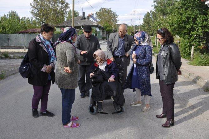 24 yıllık hasret Engelliler Haftasında sona erdi