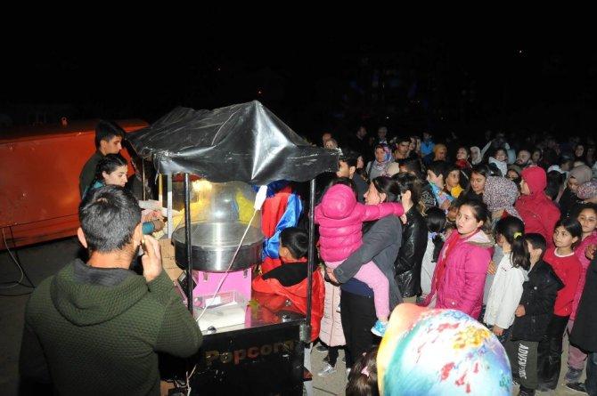 Akşehir'de Ramazan Eğlence programına yoğun ilgi