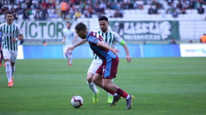 Spor Toto Süper Lig: Atiker Konyaspor: 2 - Trabzonspor: 2 (Maç sonucu)