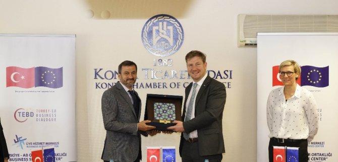 """KTO'da """"Üye Hizmet Merkezi"""" projesi tanıtım toplantısı yapıldı"""