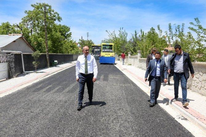 """Başkan Kavuş: """"Vatandaşımızı tozdan, çamurdan kurtaracağız"""""""