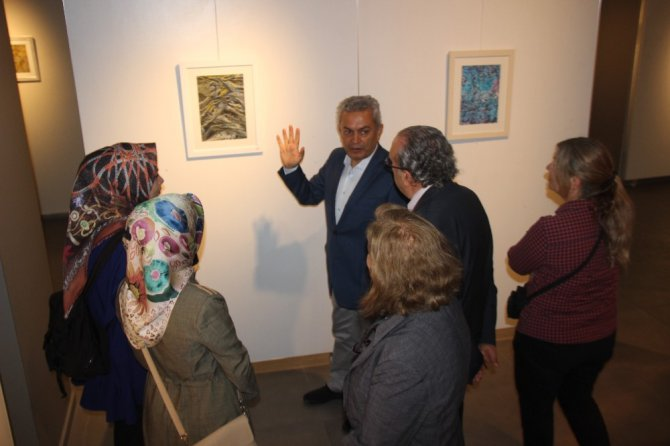 MEDAŞ Sanat Galerisinde resim sergisi