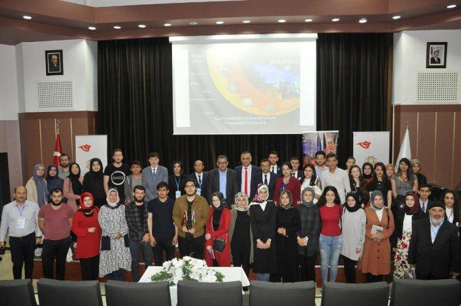 """SÜ'de """"Uluslararası Nahçıvan'dan Konya'ya Bir Köprü Konferansı"""" yapıldı"""