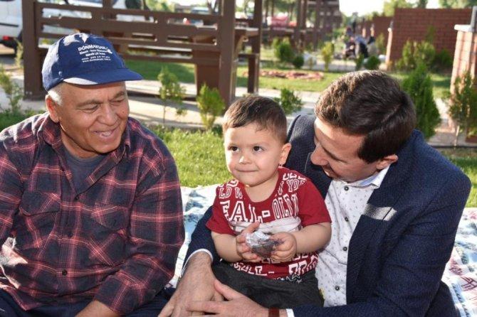Başkan Kılca, Karaaslan Piknik Bahçesinde vatandaşlarla buluştu