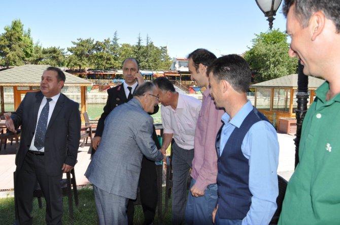 Beyşehir'de ilçe protokolü bayramlaştı