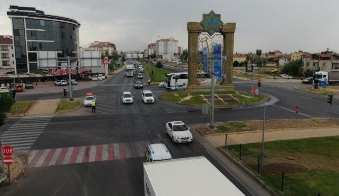 Aksaray'da 9 günlük bayram tatili bilançosu