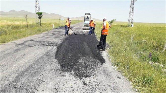 Ereğli Belediyesi yol yapım ve onarım çalışmalarını sürdürüyor