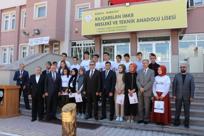 Konya'daki okullarda karne heyecanı