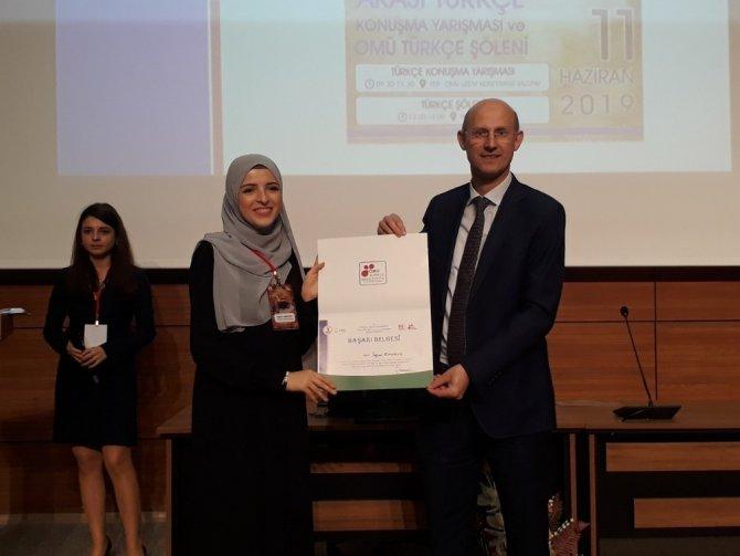 NEÜ'lü öğrenci katıldığı yarışmadan ödülle döndü