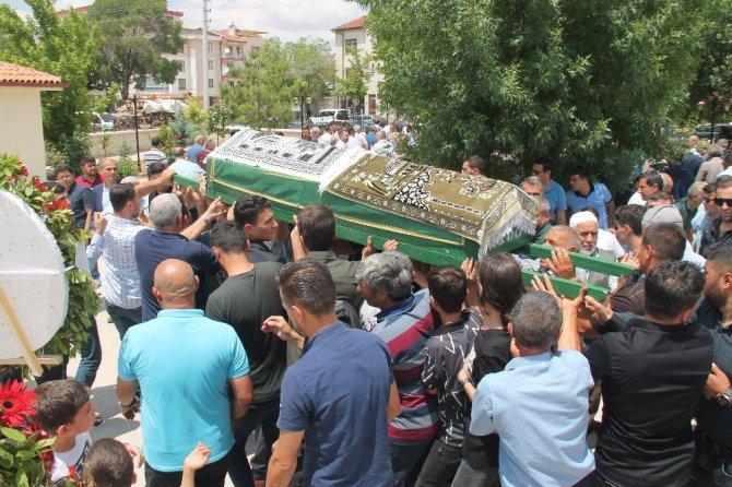 Trabzon İl Jandarma Komutanının babası Konya'da son yolculuğuna uğurlandı