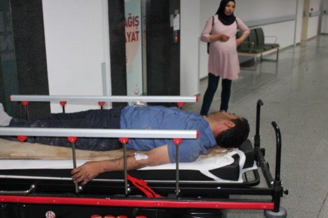 Aksaray'da minibüs devrildi: 1 ölü ,2 yaralı