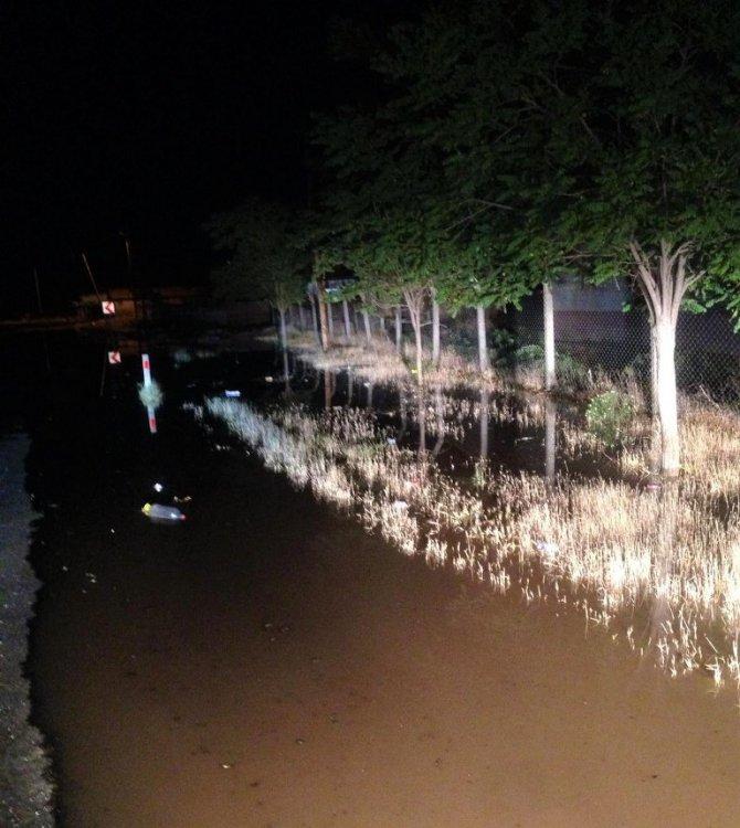 Ereğli Belediyesinden su baskınlarına anında müdahale