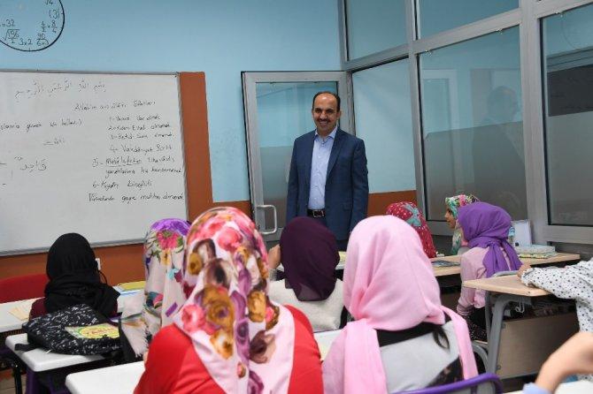Başkan Altay, Bilgehanede eğitim gören öğrencilerle buluştu