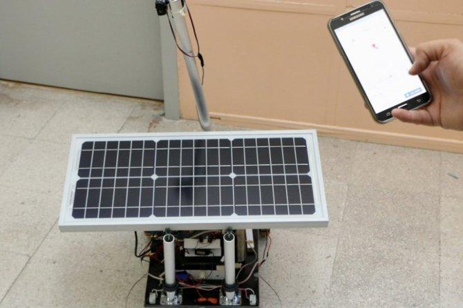 Kayıp çocukları bulan robot çalışması patent aldı
