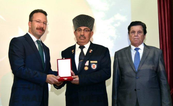 Selçuklu'da Kıbrıs gazilerine madalya ve berat verildi