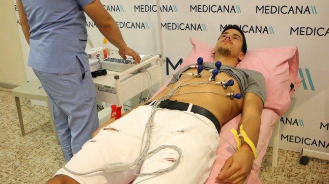 Konyaspor sağlık kontrolünden geçti