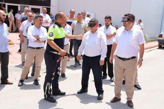 Konya'da şoför ve vatmanlara yaya önceliği eğitimi verildi