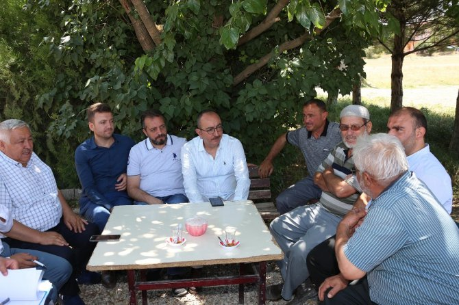"""Başkan Kavuş: """"Önceliğimiz sorunlu bölgelerin ve uzak mahallelerin refahı"""""""