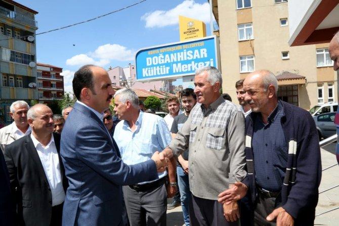 """Başkan Altay: """"İnsanımızın yaşadığı yerde gelirini artıracağız"""""""