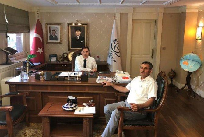 İsveç İslam Federasyonu Başkanı Akan, Ankara'da istişarelerde bulundu